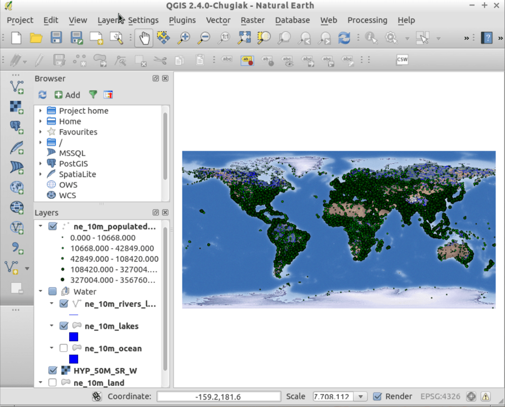 QGIS — OSGeo-Live 9 0 Documentation