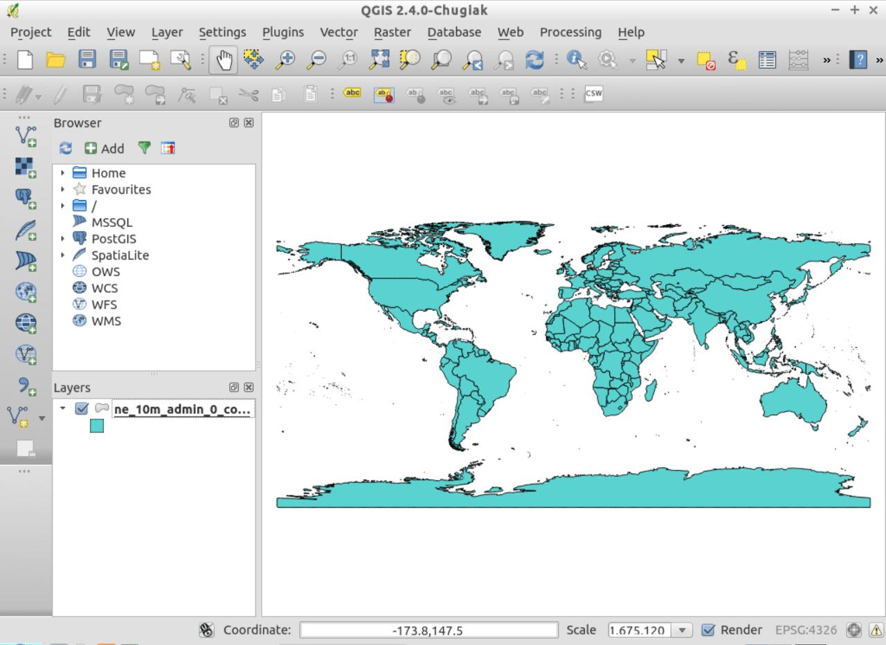 QGIS Quickstart — OSGeo-Live 9 0 Documentation